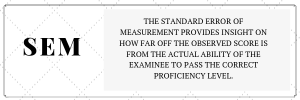 Standard Error of Measurement in Assessment